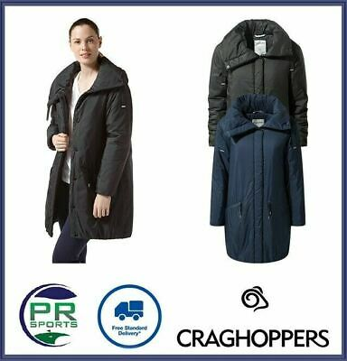 New Craghoppers Womens Outdoor Winter Feather Jacket Insulated Waterproof • 59.99£