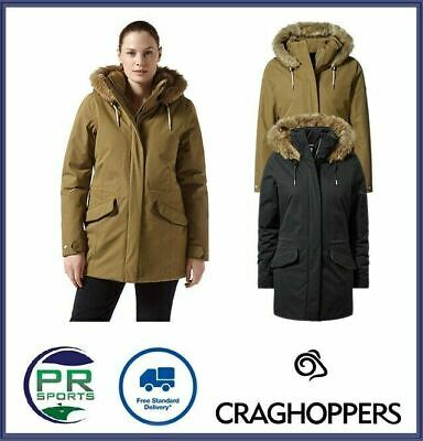 New Craghoppers Womens Outdoor Winter Josefine Jacket Waterproof Breathable • 49.99£