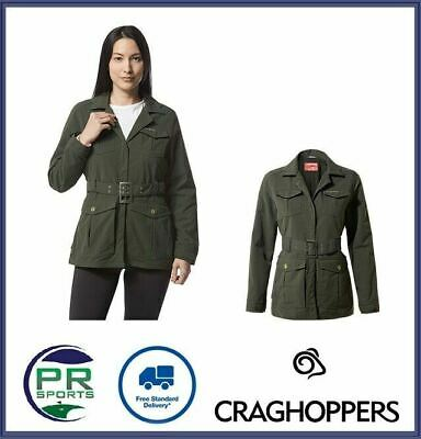 £30.99 • Buy New Craghoppers Womens Outdoor NosiLife Lucca Jacket Moisture And Odour Control