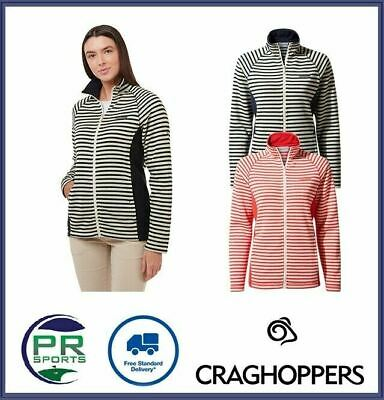 New Craghoppers Womens Winter Aisha Full Zip Jacket Insulated Micro Fleece • 19.99£