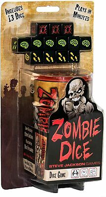 £12.95 • Buy Zombie Dice Board Game NEW DISPATCHING TODAY ORDERS PLACED BY 2 P.M.