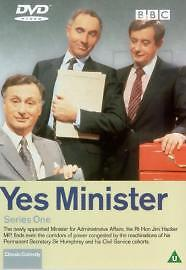 Yes Minister - Series 1 (DVD, 2001) • 1.80£