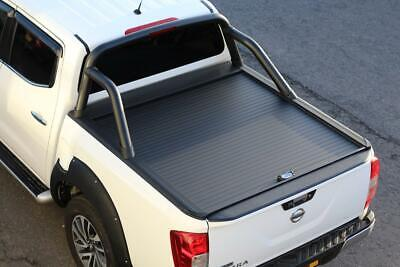 Armadillo Roll Top Cover For Nissan Navara NP300 With Black Roll Bar • 1,695£