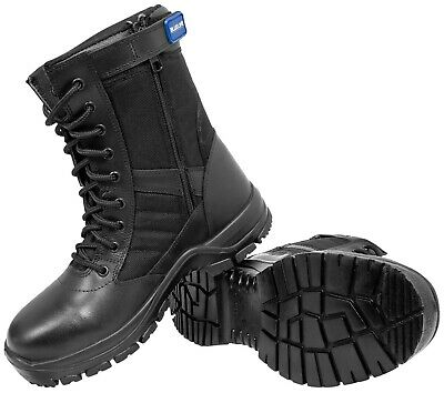 $75.63 • Buy BLUELINE PATROL 8  SIDE ZIP BOOTS  - Police/Military/Security/Paramedic