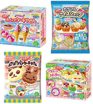 Popin Cookin DIY Candy 4 Kits Cake Shop Sweets Party Fluffy Pancakes Ice Cream • 15.90£