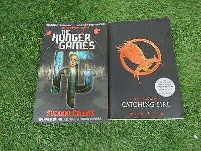 £7.50 • Buy The Hunger Games & Catching Fire Paperback Books Suzanne Collins