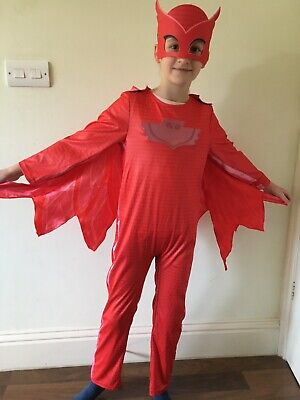 Kids PJ Masks Costume, Unisex,Size 7-8 • 13£