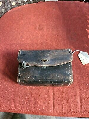 £54.97 • Buy Vintage Ww2 Original Leather Bullet Holding Pouch / Case 1943 Pre Owned  A3