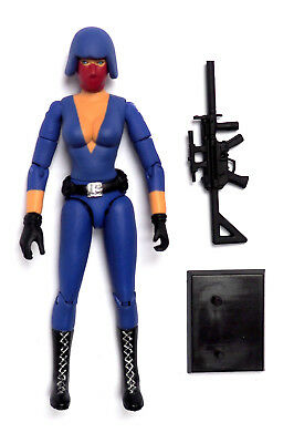 $ CDN19.62 • Buy GI JOE Custom Action Figure 3.75 Inch Cobra Female Trooper ARMY BUILDER Fodder