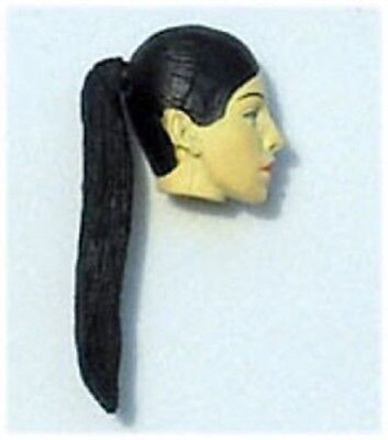 $ CDN7.84 • Buy Nikova Female Action Figure Head Black Hair Custom Fodder Lot Star Wars GI Joe