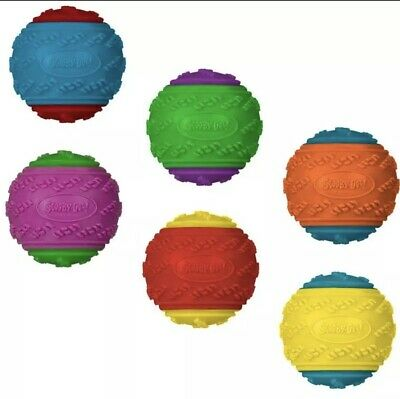 £11.99 • Buy 4 X Scooby Doo Durable Squeaky Dog Ball Toys - UK SELLER