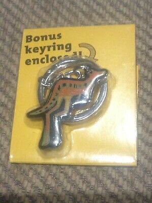 Rare New Novelty Kangaroo Keyring Advertising Australian Yellow Tail Wine Promo • 8.99£