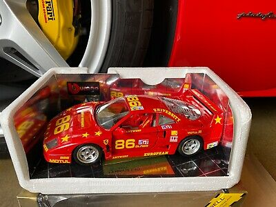 $185 • Buy Bburago 1/18 Scale Ferrari F40 Limited Edition EU University Antwerp 1 0f 250
