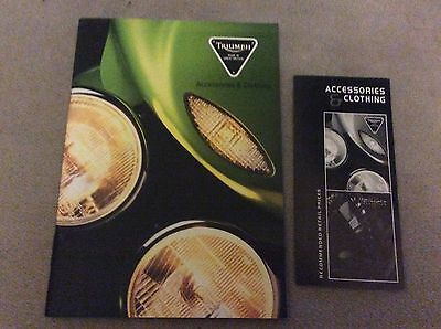 Triumph Motorcycles 1999 Accessories & Clothing Catalogue & Price List • 8.99£