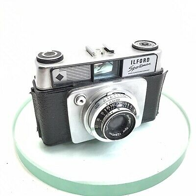 Vintage ILFORD Sportsman 35mm Compact Camera Cassar F:/2.8 45mm Lens!Working#530 • 35£