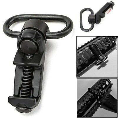 $ CDN10.47 • Buy Tactical QD Sling Swivel Attachments 45 Degree Low Profile Picatinny Rail Mount
