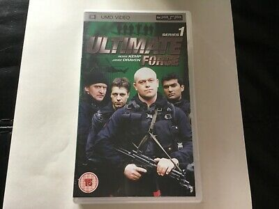£5 • Buy Sony PlayStation PSP UMD Ross Kemp Ultimate Force Series 1 DVD