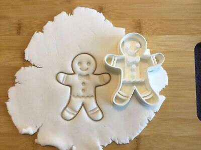 £4.99 • Buy Christmas Gingerbread Cookie Cutter Biscuit, Pastry, Fondant Cutter