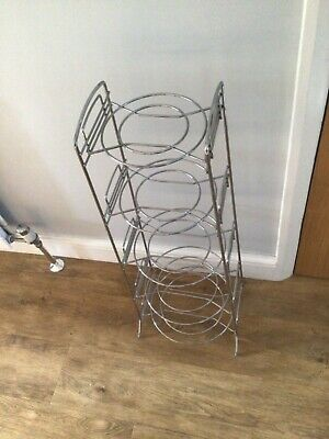 5 Tier Stainless Steel Saucepan Stand. Excellent Condition  • 9.99£