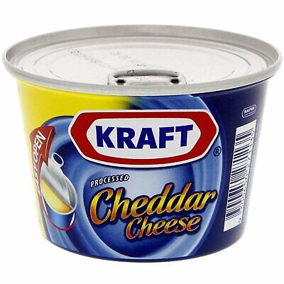 £11.99 • Buy 1 Tin X KRAFT PROCESSED HALAL CHEDDAR CHEESE 190G. FREE UK DELIVERY!!