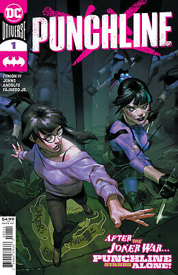 Punchline #1 Dc Comics Bagged/boarded • 4.99£