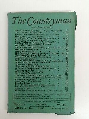 The Countryman Magazine Spring 1944. Excellent Condition. • 6£