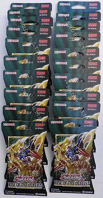 YUGIOH! RISE OF THE DUELIST BOOSTER (X 20 PACKS) 1st EDITION - SPECIAL PACKAGING • 85£