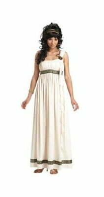California Costumes Olympic Goddess Adult Costume, Cream,, Cream, Size Large • 12.99£