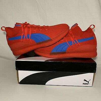 "PUMA Clyde Court GW ""City Pack Philadelphia 76ers"" Red Blue RARE Promo Sample • 216.07£"