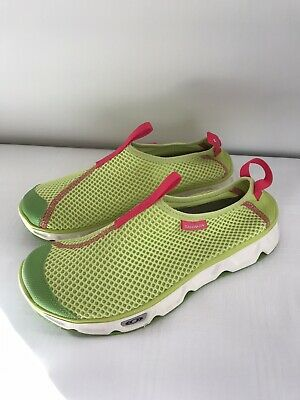 Salomon Women Trainers RX MOC 3.0 Lime Green Colour, Size UK7, Brand New • 50£
