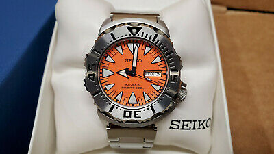 $ CDN1686.82 • Buy Seiko 2nd Generation Orange Monster SRP309 Diver's Watch MINT Condition
