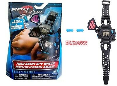 Spin Master Spy Gear - Field Agent Spy Watch Ages 6+ Toy Time Play Alarm Gadget • 24.59£