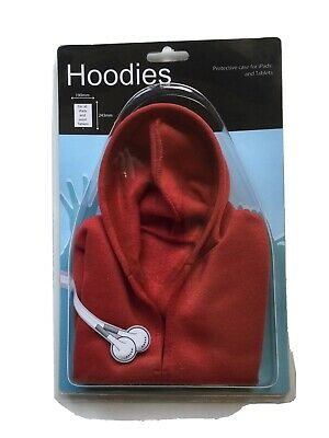 Stocking Filler Novelty  Hoodies Protective Case For Ipads And Tablets New Red • 2.50£