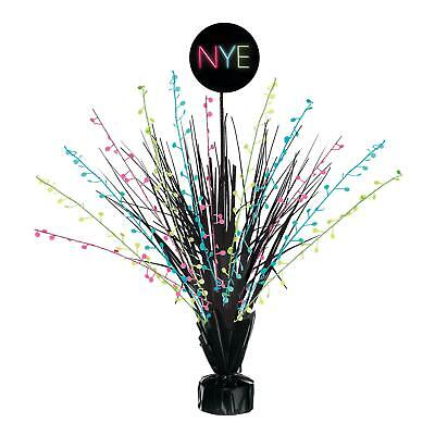 £7.64 • Buy NYE New Years Eve Spray Table Centrepiece 2021 Balloon Weight  Party Decorations