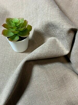 NEW Upholstery Taupe/Beige Polyester Torino Woven Fabric Furnishing 58   • 2.45£