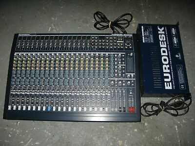 Behringer Eurodesk MX2442A 24-channel Mixing Console With Power Supply - PERFECT • 249£