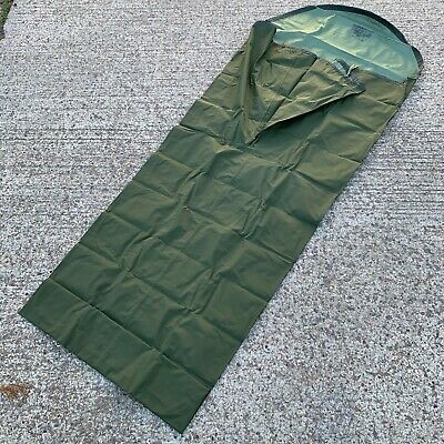 OLIVE GREEN WATERPROOF BIVI BIVVY SLEEPING BAG COVER - British Army Issue • 35£