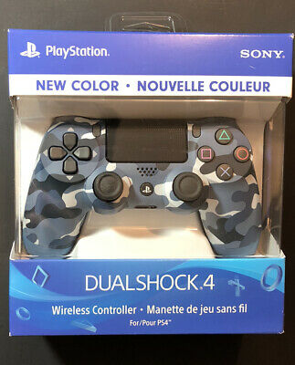 AU255.32 • Buy Official Sony PS4 DualShock 4 Wireless Controller V2 [ Blue Camo ] NEW