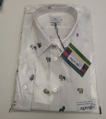 POUL SMITH MENS SHIRTS Size-L TAILORED FIT 100% GENUINE  NEW • 24.99£