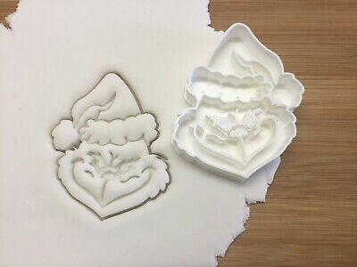 £4.99 • Buy Christmas Grinch Cookie Cutter Biscuit, Pastry, Fondant Cutter