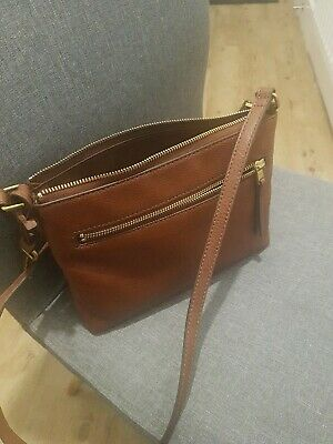 Tan Leather Fossil Bag  • 21£