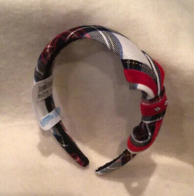 The Children's Place Plaid Headband For Girls - Multicolor - New/NWT • 5.06£