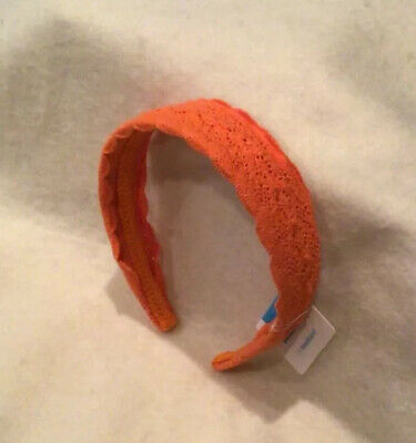 The Children's Place Lace Headband For Girls - Orange - New/NWT • 4.33£
