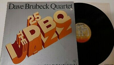 1977 DAVE BRUBECK QUARTET 25th ANNIVERSARY REUNION EX VINYL LP U.S INC TAKE FIVE • 2.99£