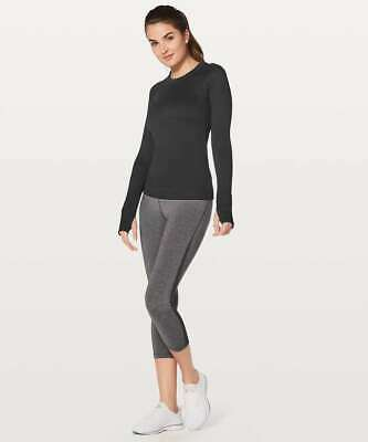 $ CDN84.86 • Buy Lululemon Women's Rest Less Pullover Long Sleeve Top Shirt Size 12 Black