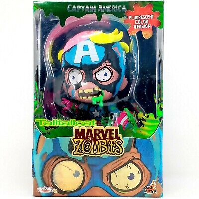 $ CDN32.74 • Buy Hot Toys MARVEL ZOMBIES COSB833 Captain America (Fluorescent Color Ver.) Cosbaby