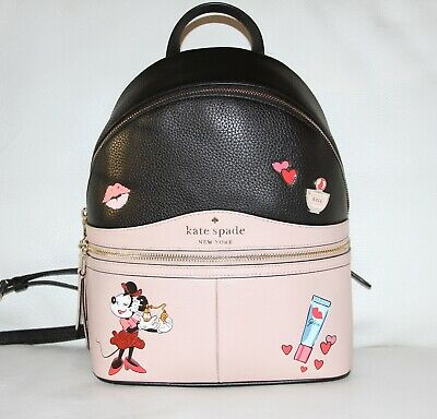 $ CDN289.19 • Buy 💚 KATE SPADE X Disney Minnie Mouse Medium Backpack Bag Purse NWT