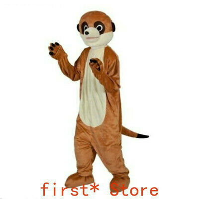 Meerkat Mascot Costume Party Game Dress Adult Outfit Cartoon Character Clothing • 168.44£