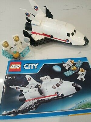 Lego City Space Utility Shuttle 60078 Complete With Instructions • 4£