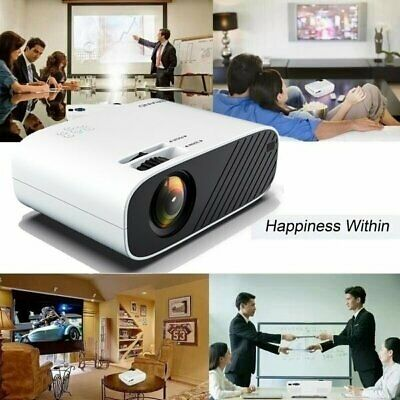 AU106.99 • Buy HD 1080P WiFi Video Theatre Android Projector Home Cinema 18000 Lumens HDMI USB